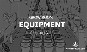 Growroom Materials